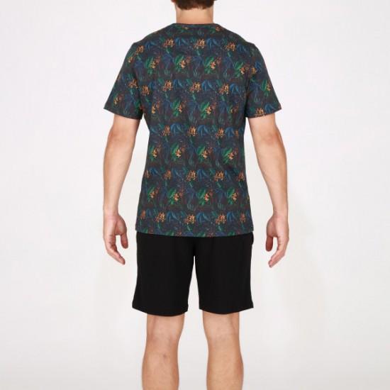 Offering Discounts Dark Botanic Short Sleepwear