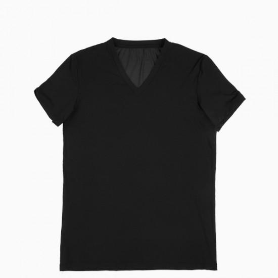 Discount Sale Plumes t-shirt V neck