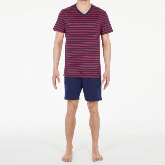 Discount Sale Pyjama court Marins