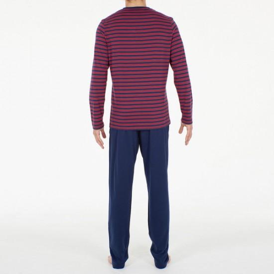 Discount Sale Pyjama long Marins