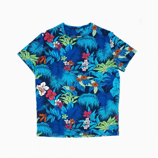 HOM T-shirt col rond Maitai