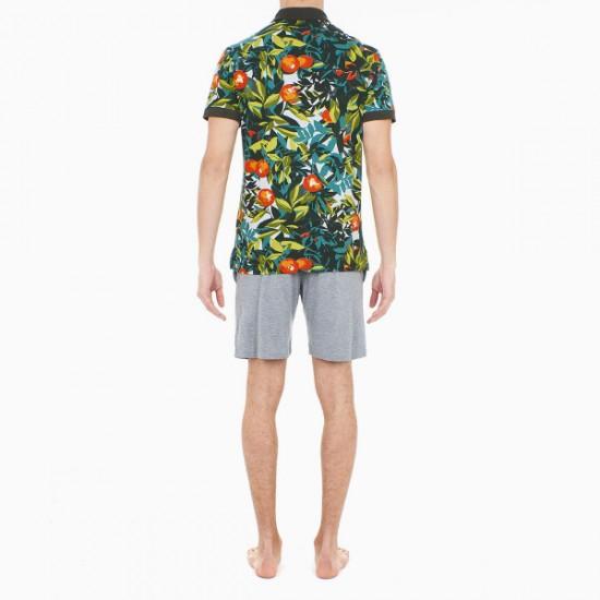 Discount Sale Tangerine Short Sleeve Poloshirt